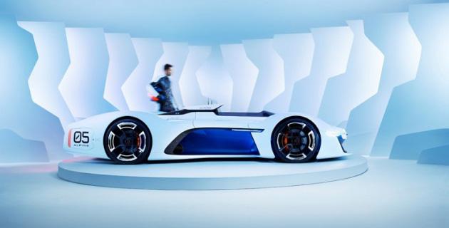 Alpine Vision Gran Turismo | Renault Alpine