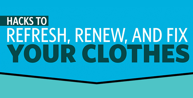 How to remove stains from clothes, and other essential hacks
