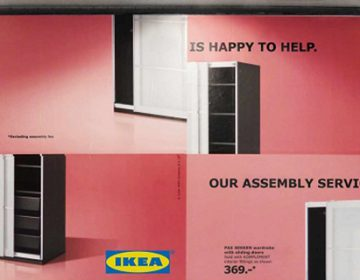 Funny Ikea Self-Assembly Billboards