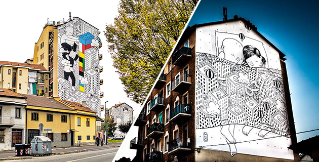 Street art illustration | MILLO