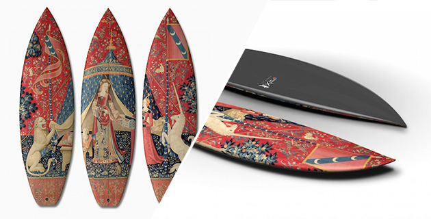 Tryptich Surfboard Series | Boom-Art