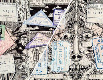 Passport Doodles | Léonard Combier