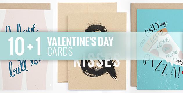 10 + 1 Valentine's Day Cards