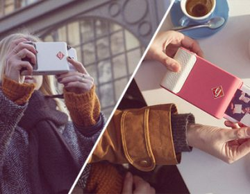 Instant camera case for smartphone   Prynt