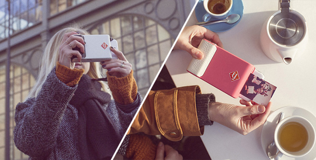 Instant camera case for smartphone | Prynt