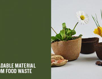 AgriDust Biodegradable Material | Marina Ceccolini