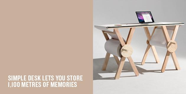 Analog Memory Desk | Kirsten Camara