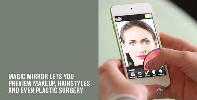 Augmented reality makeup mirror | Modiface