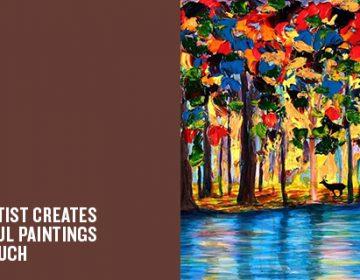 Impressive paintings by blind artist | John Bramblitt