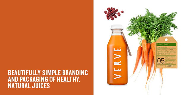 Brand identity and packaging | Verve Juices