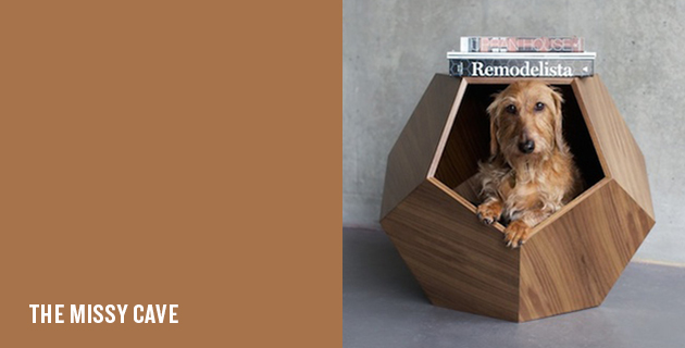Geometric pet bed | Pup & Kit