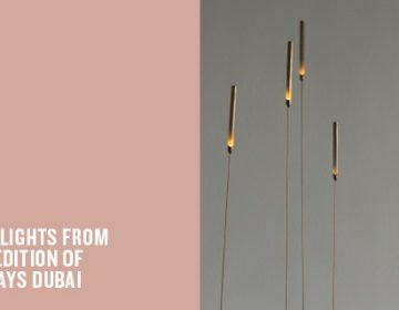 The best of Design Days Dubai 2015