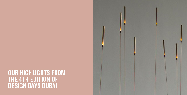 The best of Design Days Dubai 2015