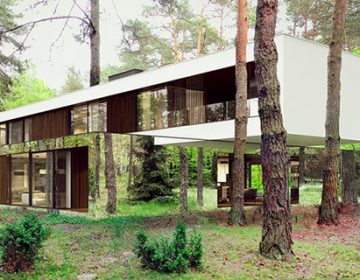Mirrored home blends seamlessly into the woodland | Reform