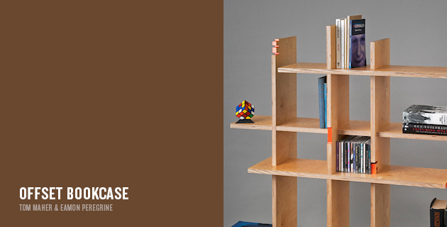 Offset Bookcase | Tom Maher & Eamon Peregrine