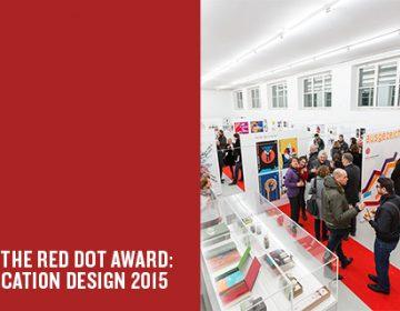 Start of the Red Dot Award: Communication Design 2015