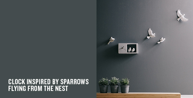 Sparrow Clock | Haoshi Design