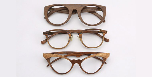 Hand crafted wooden eyewear | Sayon