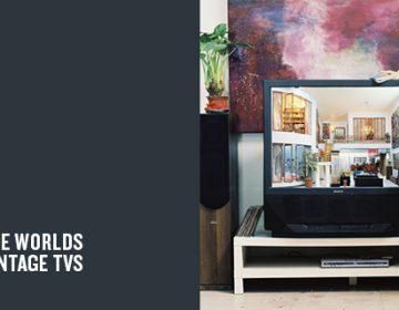 Miniature worlds inside vintage TVs | Zhang Xiangxi