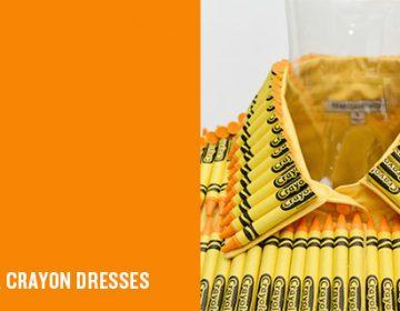 Designer Crayon Dresses
