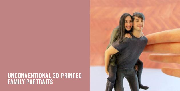 3D Twin Portrait Figurines | Twindom