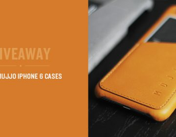 Giveaway: Win 2 Mujjo Iphone 6 Cases