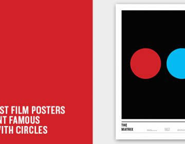 Simple movie posters using circles | Nick Barclay