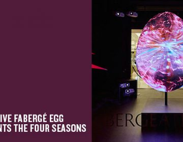 Harrods Fabergé Installation | Justso & Projection Artworks