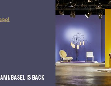 Coming soon: DesignMiami/Basel