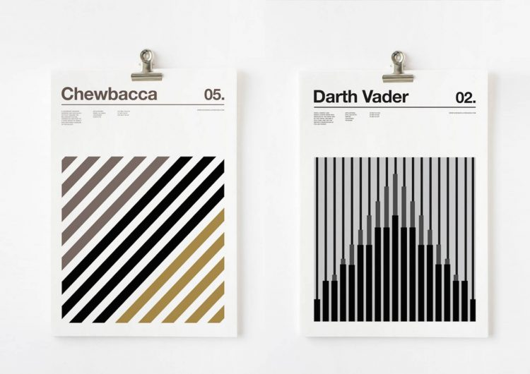 3 Colour Star Wars Characters | Nick Barclay