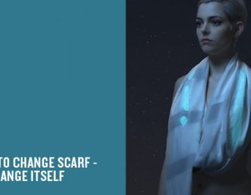 The Chameleon scarf | Neffa