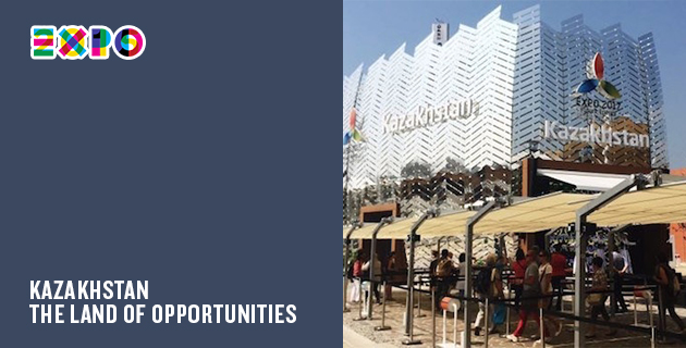 A Milan Expo pavilion every day | Day 83: Kazakhstan