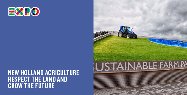 A Milan Expo pavilion every day | Day 59: New Holland Agriculture