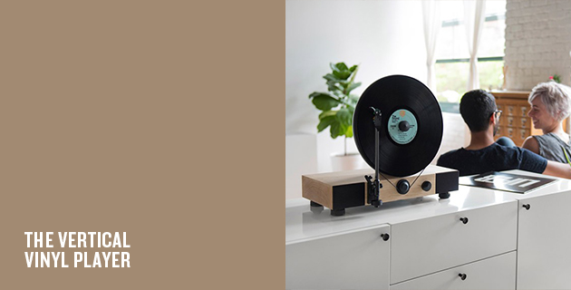 Floating Record Vertical Turntable | Gramovox