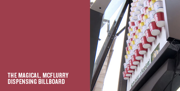 Heat-activated advertising | JCDecaux for McDonald's