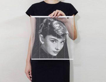 Paper cut portraits | Yoo Hyun