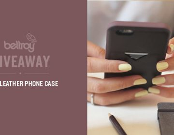Giveaway: Bellroy Phone Case