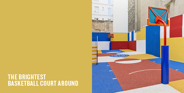 Pigalle Basketball Court | Ill Studio