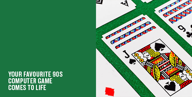 Solitaire Playing Cards | Susan Kare for Areaware