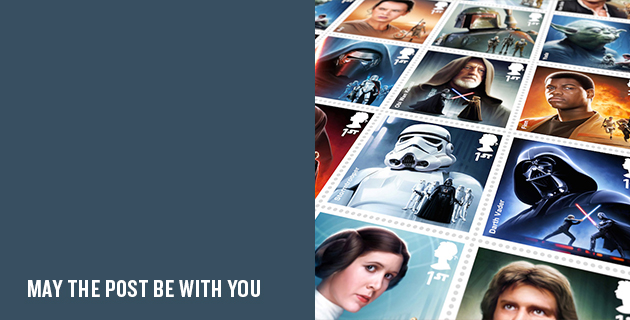 Star Wars Stamps | Digital Progression for Royal Mail
