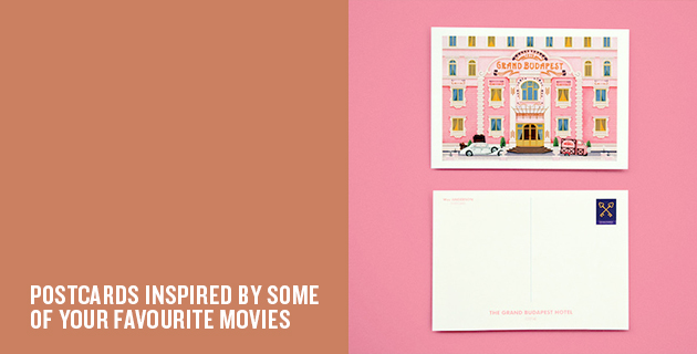 Wes Anderson Postcards | Mark Dingo Francisco
