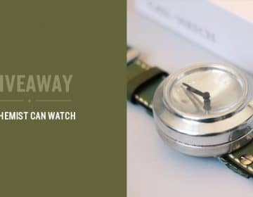 Giveaway: Alchemist Can Watch