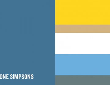 The Colors of Simpsons | Hyo Taek Kim
