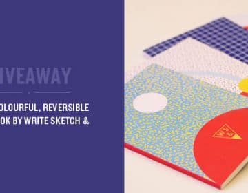 Giveaway: 4 Write Sketch & Notebooks