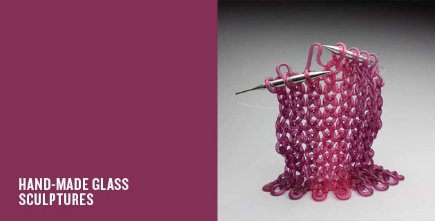 GLASS SCULPTURE | CAROL MILNE