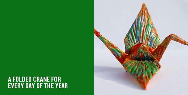365 Origami Cranes | Cristian Marianciuc