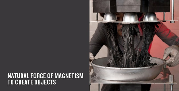 Force of magnetism creates objects | Jólan Wiel