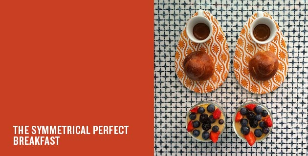 Symmetrical breakfast | Michael Zee