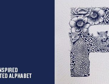 Illustrated Alphabet | Valérie Hugo
