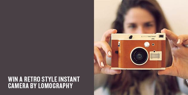 Giveaway: Lomo'Instant Sanremo Edition Camera